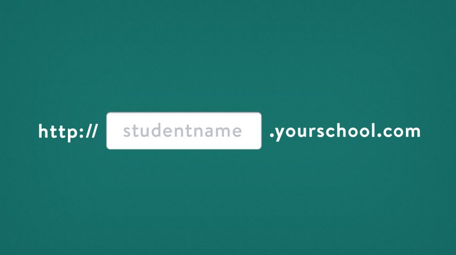 Free Subdomain Accounts for Students