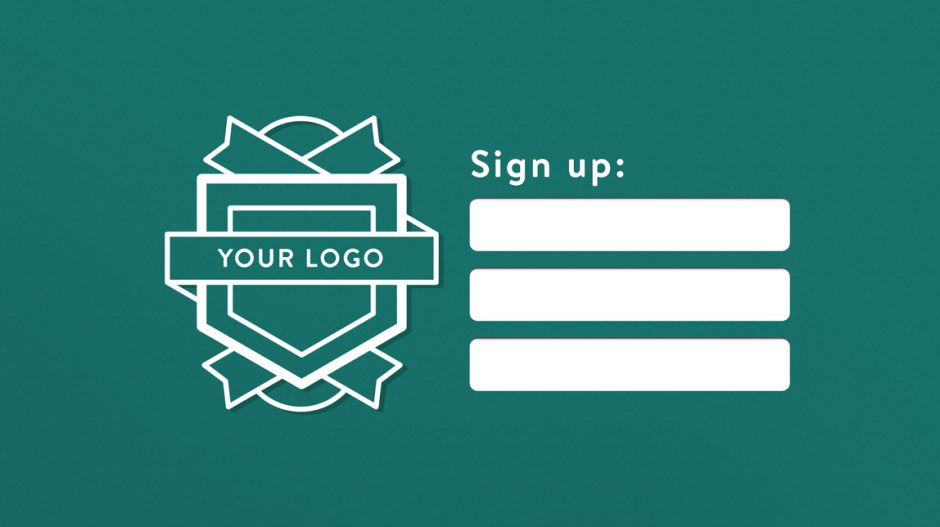 Easy, Branded Signup for Students